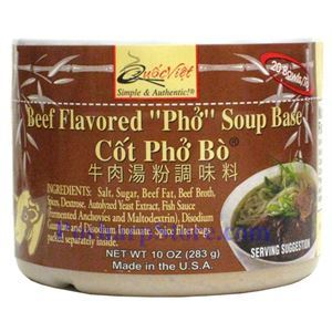 "Picture of Quoc Viet Foods Beef Flavored ""PHO"" Soup Base"