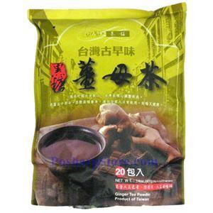 图片 台湾基诺牌黑糖姜母茶