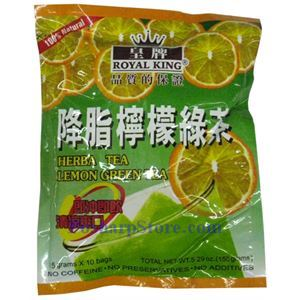 Picture of Royal King Lemon Green Tea for Weight Loss