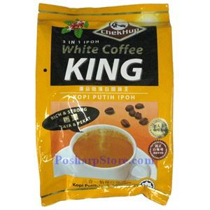 Picture of Chekhup 3-In-1 IPOH  White Coffee King 15 Sachets