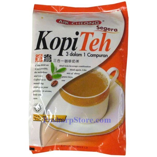 Picture for category Aik Cheong 3-in-1 Coffee & Tea Mix