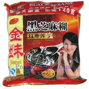 Picture of Jinmei Black Sesame Powder with Lotus Seeds & Red Date (Jujube)