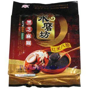 图片 水磨坊牌红米八珍黑芝麻糊