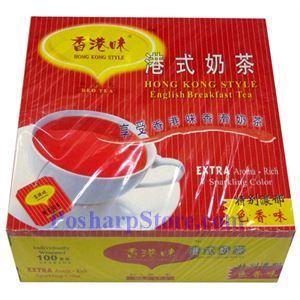 图片 香港味牌港式奶茶 100茶袋装