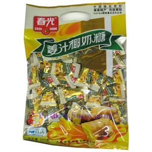 Picture of Chunguang Ginger Coconut Candy 7oz