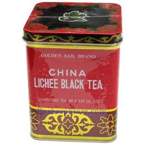 Picture of Golden Sail Brand China Lychee Black Tea 8Oz