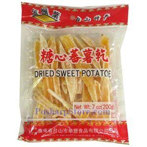 图片 金枫叶牌糖心番薯干 200克