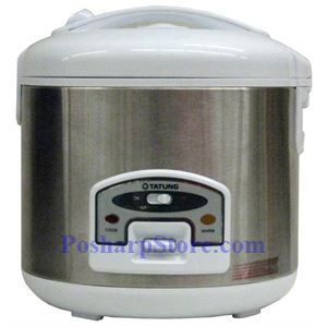 Picture of Tatung TRC-10STW 10 Cup Electric Rice Cooker