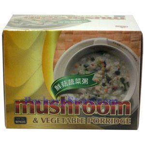 Picture of Fresh Bean House Mushroom & Vegetable Porridge