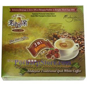 Picture of Old Ipoh 3-In-1 Malaysia Traditional White Coffee Hazelnut Flavor