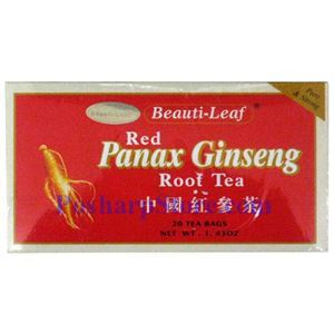 Picture of Beauti-Leaf Red Panax Ginseng Root Tea, 20 Teabags