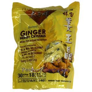 Picture of Prince Of Peace Instant Ginger Honey Crystals 1.2 lb, 30 Teabags