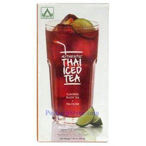 Picture of One Brew Thai Ice Tea with Black Tea Flavor Plus Tea Filter