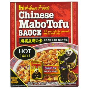Picture of House Foods Chinese Mabo Tofu Sauce Hot Spicy 5.3 Oz