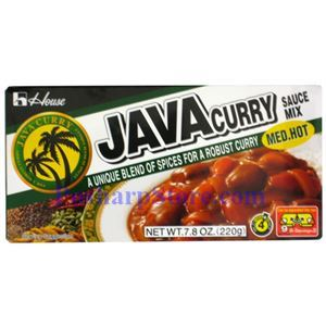 Picture of House Foods Java Curry Sauce Mix Medium Spicy 7.8 Oz