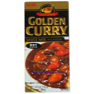 Picture of S&B  Golden Curry Sauce Mix Hot Spicy 3.5 Oz