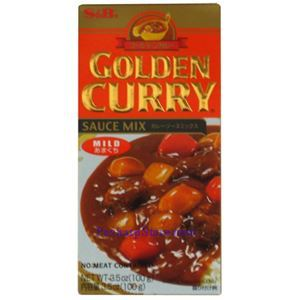 Picture of S&B  Golden Curry Sauce Mix Mild Spicy 3.5 Oz