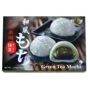 图片 皇族牌日式抹茶麻糬 210克