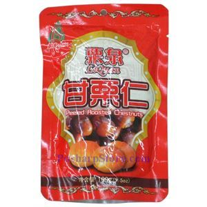 Picture of Liquan Peeled Roasted Chestnuts  3.5 oz
