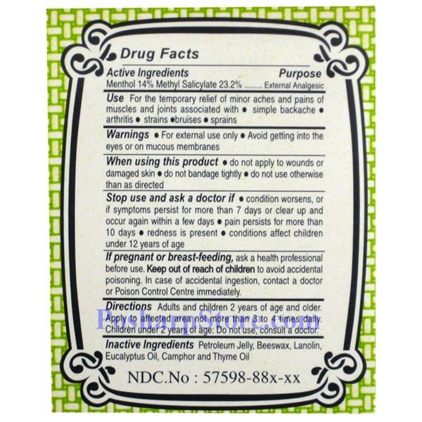 Picture for category Ultra Balm Cooling Pain Relief 2.5 oz