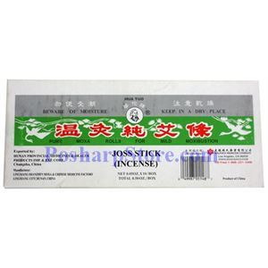 Picture of Hua Tuo Joss Stick Incense for Mild Moxibustion 10 Sticks