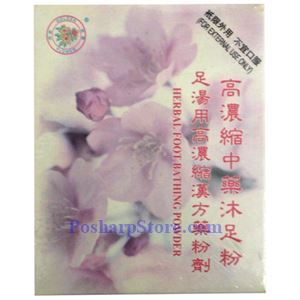 Picture of Golden Flower Herbal Foot Bathing Powder 5.3oz