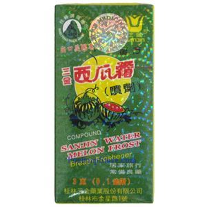 Picture of Sanjin Watermelon Frost Breath Freshener  Spray 0.1oz