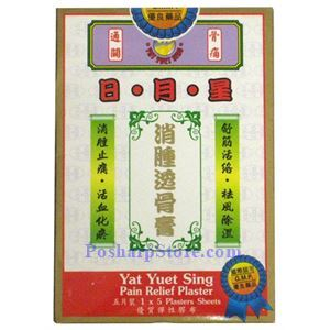 Picture of Yat Yuet Sing Pain Relieving Plaster, 5 Patches