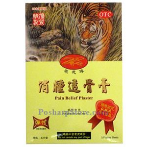 Picture of Feihu Pain Relieving Plaster, 5 Patches