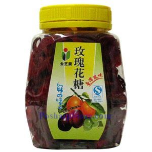 Picture of Jinzhilan Preserved Rose Flower with Sugar 6 oz