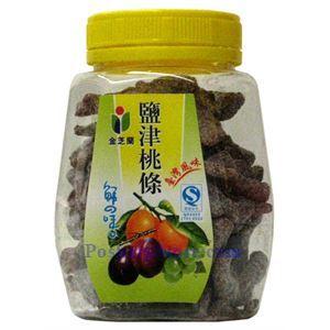 图片 台湾金之兰牌盐津桃条 130克