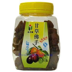 Picture of Jinzhilan Preserved Buddha's Hand with Licorice 5.3 oz