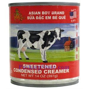 Picture of Asian Boy Brand Sweetened Condensed Milk 14 oz