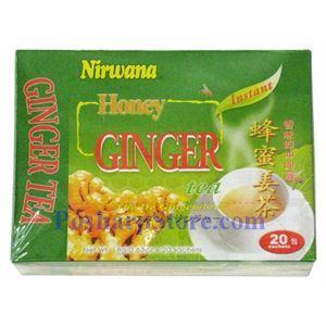 Picture of Nirwana Instant Honey Ginger tea 12.6 oz