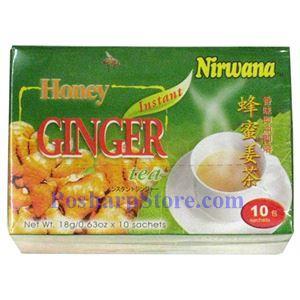 Picture of Nirwana Instant Honey Ginger tea 6.3oz