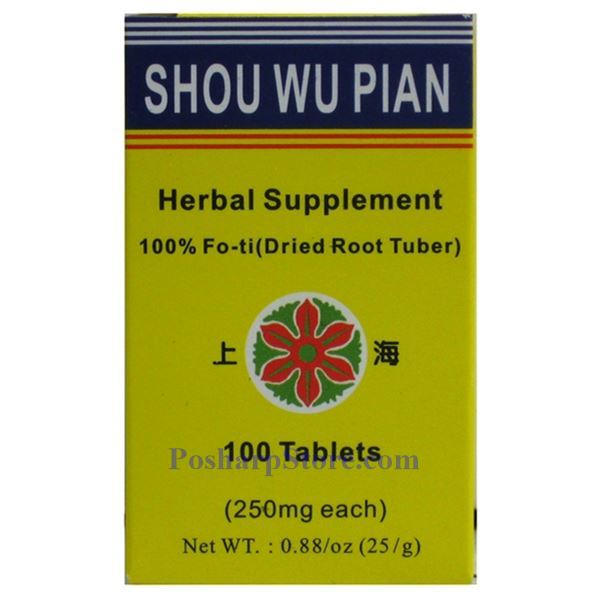 Picture for category Shanghai Shouwu Pian 100 Tablets