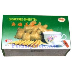 Picture of KGS Sugar Free Ginger Tea 1.05oz
