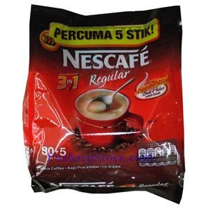 Picture of Nescafe 3 IN 1 Mix Coffee Regular 30 Stick Packs