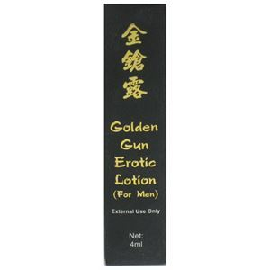 Picture of Golden Gun Erotic Lotion for Men 4mL