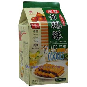 Picture of ZhuangJia Square Cookies Onion Flavor 15oz