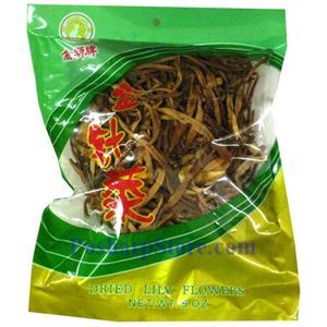 Picture of Golden Lion  Dried Lily Flower 5oz