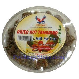 Picture of Willis Eagle Dried Hot Tamarind (Mut Me Cay) 7oz