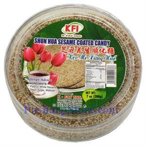 Picture of KFI  Shun Hua Sesame Coated Candy (Keo Me Xung Hue) 7oz