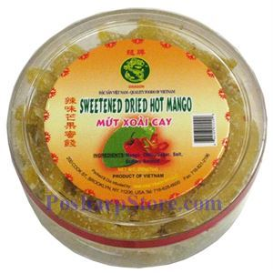 Picture of Dragon Sweetened Hot Mango Candy (Mut Xoai Cay) 7oz