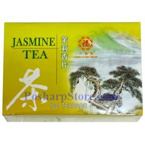 Picture of Lucky Eight Brand Jasmine  Tea 100 Teabags