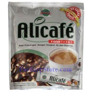 Picture of Alicafe 4 in 1 Ginseng Coffee with Tongkat Ali No Sugar