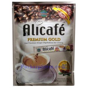 Picture of Alicafe Premium Gold 3-In-1 Ginseng Coffee No Sugar