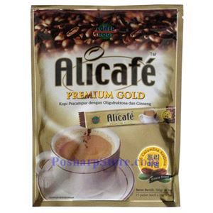 Picture of Alicafe Premium Gold 3-In-1 Ginseng Coffee with Suagr