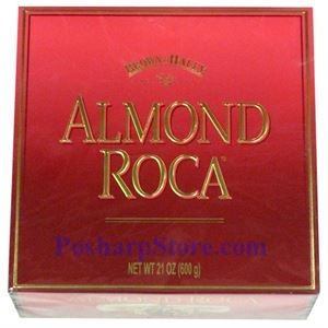 Picture of Brown Haley Almond Roca Chocolate in Gift Box 21 oz