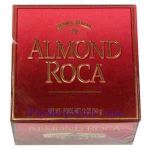 Picture of Brown Haley Almond Roca Chocolate Classic Tin in Gift Box 12 oz